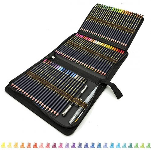 Lot de 72 Crayon de Dessin ZZONEART