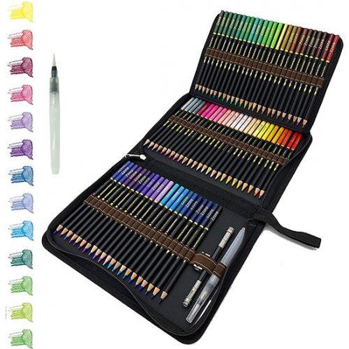 Lot de 72 Crayon de Dessin tvfly